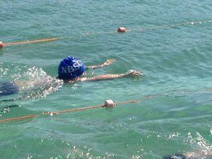 breaststroke swimming cap